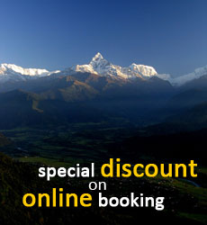 Special Discount on Online Booking